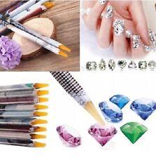New Wax Resin Rhinestone Picker Pencil Nail Art Gem Crystal Pick Up Tool.