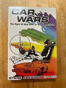 CAR WARS - Steve Jackson Games, 4th Edition, 2nd Printing, New & Sealed