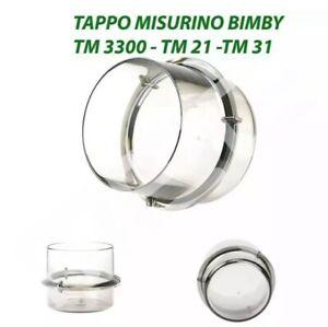 MISURINO TAPPO BICCHIERINO BIMBY TM31, TM 21, TM 3300 RICAMBIO BICCHIERINO