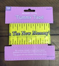 New ListingBaby Shower Mom To Be Tummy Tape Game ~ Party Supplies Activity Bump Mother New