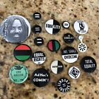 19 African-American Civil Rights Anti-Racism Social Justice Pin Pinback Buttons