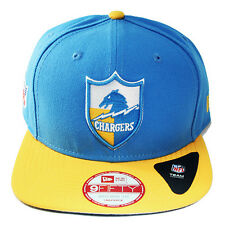 New Era NFL San Diego Chargers Snapback Hat 9Fifty Original Fit Cap