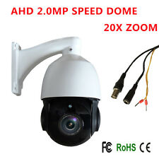 AHD 20X ZOOM 1080P 2.0MP SONY CMOS Pan Tilt PTZ Camera CCTV Security Outdoor