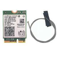 Intel AX201NGW AX201 NGFF M2:CNVi Dual Band 802.11ac 2.4Gbps WiFi Bluetooth 5.0