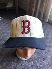 Vintage starter Boston Red Sox 100% wool cream pinstriped