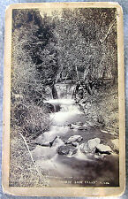 Horse Shoe Falls Glen Eyrie Colorado Springs J.L. Clinton Photog Colo Mid Rail