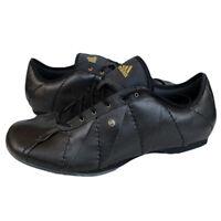 Adidas Shiva Etude Schuhe Sneaker Gr 38-42 Turnschuhe Fitness Leder schwarz