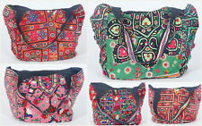 5 PC Wholesale Tote Shopping Bags Vintage Handbags Banjara Gypsy #Women #Purse