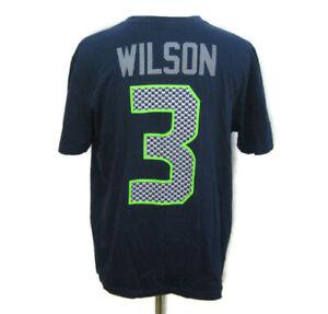 Russell Wilson Seattle Seahawks Men's (Size XL) NIKE Super Bowl XLVIII T-Shirt