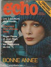 Echo de la mode N°52 du 28 décembre 1973