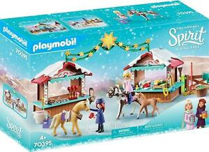 DreamWorks Spirit© 70395 A Miradero Christmas by Playmobil, for Children Ages 4+