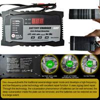 Voiture Chargeur Batterie Intelligent régénérateur démarreur 6V 12V 24V Rapide