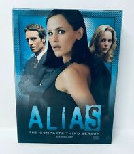 Alias Season 3 DVD Drama Jennifer Garner Spy Series Excellent Condition