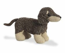 AURORA FABBIES Stuffed Plush Toy DACHSHUND WEINER Fabric Puppy Dog Soft Animal