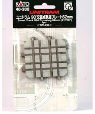 Kato 40-300 N Scale UNITRAM Street Track 62mm 90º Crossing Section