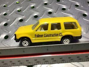 1990s Maisto Ford Explorer Fullmer Construction Co Nice