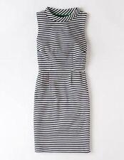 Boden Cotton Striped Dresses Midi