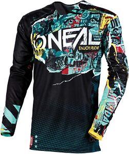2021 O'Neal Youth Mayhem-Lite Savage Jersey - Motocross Dirtbike Offroad