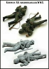 WW2 German Army SS Soldier Died Killed Wounded scale model 1/35