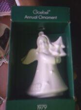 Goebel Annual Ornament 1979 Angel In All White Second Edition W/Box Euc