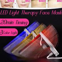 LED Photon Luce Maschera pelle Cura Facciale Ruga Viso Ringiovanimento Terapia