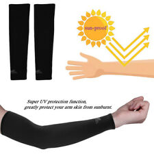 Unisex Cooling Arm Sleeves Cover Uv Sun Protection Sunscreen For Outdoor Sports