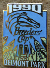 1990  BREEDERS' CUP HORSE RACING LAPEL PIN FROM BELMONT PARK!