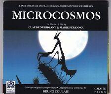 MICROCOSMOS - ORIGINAL MOTION PICTURE SOUNDTRACK CD BRUNO COULAIS DIGIPACK © 96