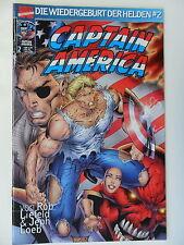 Captain America - Wiedergeburt der Helden Nr. 2 - Marvel - Zustand 1-2