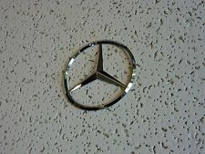 New Mercedes Benz Chrome Star Trunk Emblem Badge 75mm - Free US Shipping