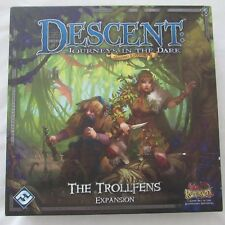 Descent Second Edition: The Trollfens Expansion NOT COMPLETE
