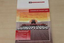 176854) Kongskilde Concept 2000+ Prospekt 200?