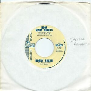 Bobby Sheen:How many nights/How can we ever be together:US Liberty
