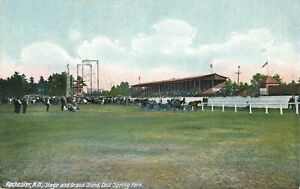 ROCHESTER NH - Cold Spring Park Stage and Grandstand Grand Stand