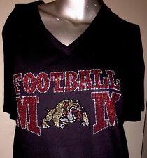 """NEW """"Football Mom"""" Tshirt Size 2X"""