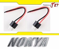 Nokya Wire Harness Pigtail Male 9003 HB2 H4 Nok9151 Head Light Socket Connector