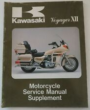 1987 Kawasaki 99924-1089-51 Motorcycle Service Manual Supplement Zg Zg1200-B1 (Fits: Kawasaki)