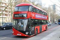 New bus for London - Borismaster LT133 6x4 Quality Bus Photo