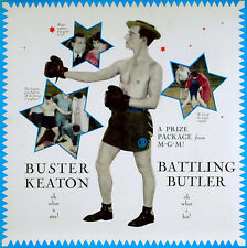 BATTLING BUTLER 1926 Buster Keaton BOXING ADVERTISEMENT