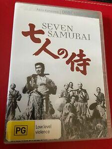 Seven Samurai - DVD Region 4 Australian Release Akira Kurosawa's