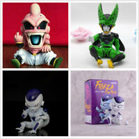 Anime Dragon Ball Z GK Frieza Freeza Kid Majin Boo Buu CELL Figure PVC Toys