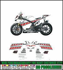 kit adesivi stickers compatibili r1 r6 moto gp valencia 2005