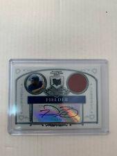 Prince Fielder 2006 Sterling Rookie Jersey Auto Card #BS-PF