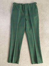 VTG Green Sharkskin Slacks Pants Rare 50's 60's Mod Original Mid Century