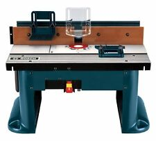 Bosch Benchtop Router Table Precision Bench Top Routing Guide Shape Garage Shop