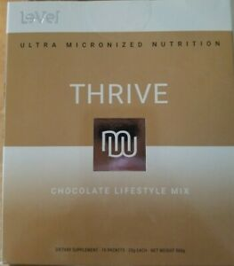 Thrive Chocolate Shakes 16 Packs New Le-Vel