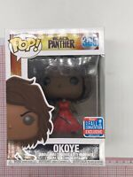 Funko POP! Black Panther #385 OkoyeNYCC 2018 Shared Exclusive NOT MINT BOX G04