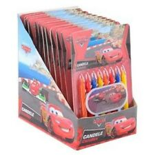 Candles cars with Nameplate for birthday cake 9 pcs