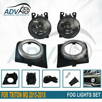 Fits Mitsubishi Triton MQ 2015 to 2018 Spot / Driving / Fog Lights Fog Lamps Kit