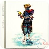 Coaster Kingdom Hearts III Sora Promo [JAP] Disney Square Enix Cafe VGC
